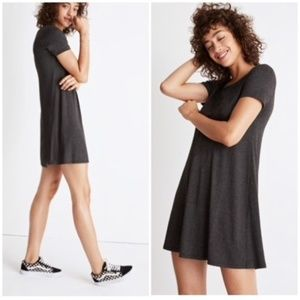 Madewell - Dark Grey, Tee Shirt Dress - Small